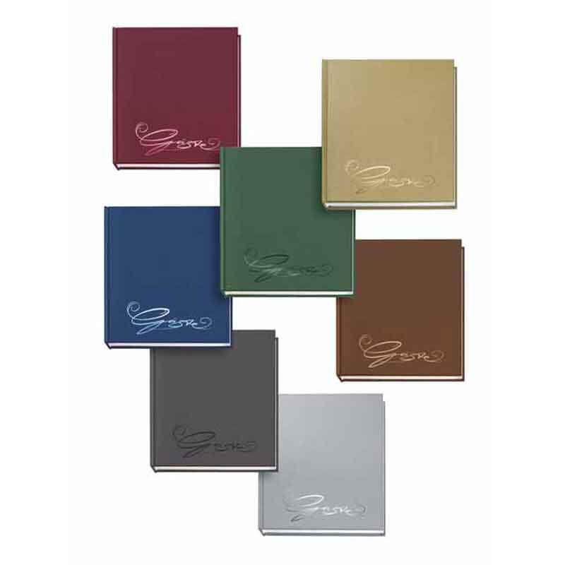 Gästebuch alle Farben